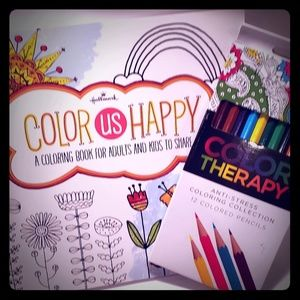 Coloring Book Colored Pencils